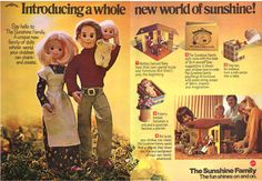 Loved my Sunshine Family dolls as a child.