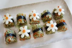 K Food, Cute Snacks, Food Plating, Bento, Kids Meals, Sushi, Food And Drink, Cooking Recipes, Lunch