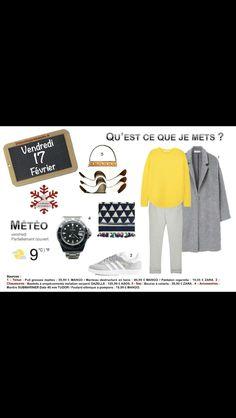 Osez le #pull #jaune ! http://www.2minutesjemhabille.fr/fr/vendredi-17-fevrier-osez-le-pull-jaune/