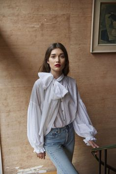 Take a look through this collection by New Zealand label Mahsa and tell me you don't want to wear a blouse RIGHT NOW...