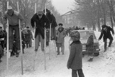 Фотографии, закоторые авторов уволили сработы: «Праздник Масленицы у шахтеров», Новокузнецк, 1984 год.