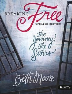 "[""<i>Breaking Free: The Journey, The Stories<\/i> by Beth Moore leads you through a study of the Scriptures to discover the transforming power of freedom in Jesus Christ. Themes for this study come from Isaiah, a book about the captivity of God's children, the faithfulness of God and the road to freedom.<br><br>This in-depth women's Bible study draws parallels between the captive Israelites of the Old Testament and New Testament believers in Jesus as the Promised Messiah. Moore looks at the…"