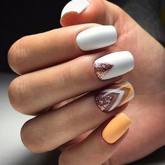 Top 80 Winter Gel polish nails 2018