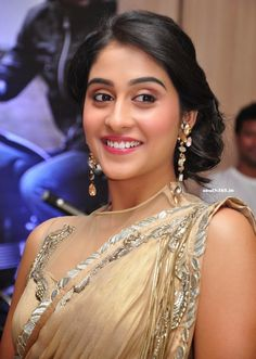 Regina Cassandra In Saree at Travel New Roads Magazine Launch #ReginaCassandra