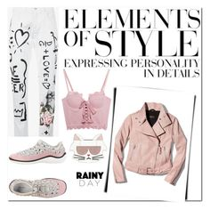 """""""Rainy Day Set # 1  8.25.17"""" by sparklemeetsclassic ❤ liked on Polyvore featuring Puma, Karl Lagerfeld, Mackage, Dolce&Gabbana, Miu Miu and Vera Wang"""