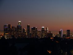 Los Angeles Cityscape | Los Angeles::Los Angeles Skyline