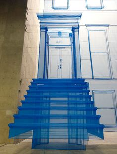 Do Ho Suh, Blueprint | polyester sculpture