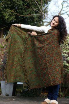 Blanket scarf shawl sofa throw meditation blanket by NouMoon