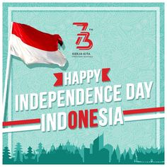Dirgahayu Indonesia 🇮🇩 create by @christ_design #kemerdekaan #indonesia #73rdanniversary #independenceday #HUTRI73