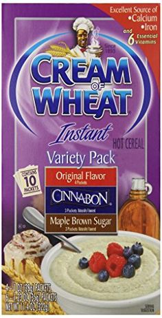 Cream of Wheat Hot Cereal Variety Pack 114 Ounce Pack of 12 *** You can find out more details at the link of the image.