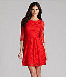 I love this lace dress.  Would be perfect for a wedding!
