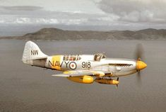 Royal Australian Navy (RAN) Fairey Firefly TT Mk 5 (carrier-borne fighter aircraft and anti-submarine aircraft) Aircraft Propeller, Ww2 Aircraft, Fighter Aircraft, Fighter Jets, Royal Australian Navy, Royal Australian Air Force, Military Jets, Military Aircraft, Lancaster