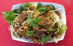 Black Noodles Recipe - Bon Appétit Cilantro Recipes, Thai Recipes, Asian Recipes, Cooking Recipes, Chinese Recipes, Cooking Ideas, Beef Recipes, Food Ideas, Noodles