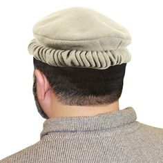 04f5683656a Traditional Afghan Ruffled Mens Cap Hat