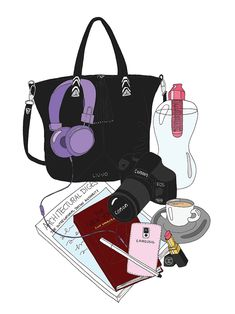 EmmaKisstina Illustrations by Kristina Hultkrantz: Blogger What's in my Bag: Rosaria of Arscity