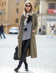 Lauren Auerbach at 080 Barcelona Fashion Week AW14: Street Style  via ELLE UK . Photo Victoria Adamson.