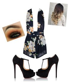 """""""New Years✨"""" by angeliqueamor on Polyvore featuring Christian Louboutin"""