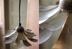 Metal Flower Pendant Light | Metal Pendant Light