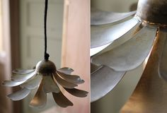 Metal Flower Pendant Light | Metal Pendant Light