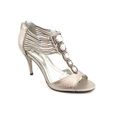 Style  Co Nathalie Womens Size 55 Gray Open Toe Dress Sandals Shoes -- This is an Amazon Affiliate link. You can get additional details at the image link.