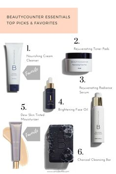 Beauty counter picks from A Modest Life {www.amodestlife.com}