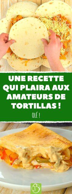 Une fajitas party, ça vous dit ? Alors, on y va, mais accrochez-vous bien parce qu'on a décidé de mettre les petits plats dans les grands et de donner une toute nouvelle allure à ce plat mexicain. Pour les fajitas façon gratin, c'est par ici. #recette #tortilla #fajita #fajitas #gratin #fromage #poivron