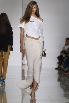 #fashion #design #women apparel #model #runway #style #inspiration - Karlie Kloss at KANYE WEST Spring 2012-RTW