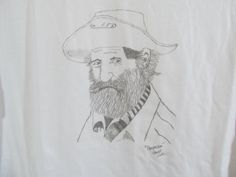 The Prospector Original Drawing T-Shirt Mens Womens by ACreativeDrawing, $30.00 Pencil Art, My Arts, The Originals, Drawings, Handmade Gifts, Artwork, Shirt, Inspiration, Etsy