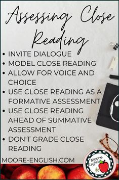 Close reading and annotation are part of critical thinking in the classroom. These strategies work for any content but are especially important for English, reading, writing, and literature classes. Using these reading strategies, students can take charge of a text and their interpretation of the text. With these skills, students can analyze an author's purpose, main idea, tone, and use of language. In this post, learn the DO's and DON'Ts of assessing close reading.