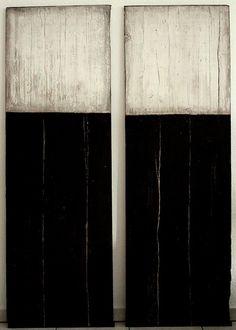 Christian Hetzel - wood panels . Holzpaneele