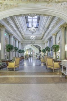Hermitage, Monte Carlo Hermitage Monaco, Classic Interior, Out Of This World, Monte Carlo, Baroque, Landscapes, Europe, France, Mansions
