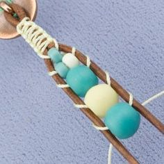How to Ladder – Free PDF  #Beading #Jewelry #Tutorials                                                                                                                                                                                 More