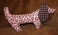 Cocoa the Stuffed Dog by fluffygirlboutique on Etsy, $14.99