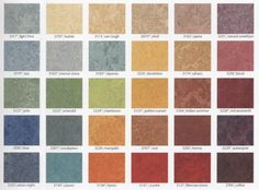 Marmoleum: easy to clean, eco-wise, healthy, durable.