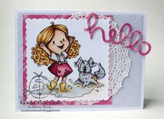 Kinda Cute Cards: Crafty Sentiments Designs new release in TV