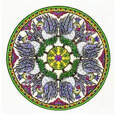 Ellen Trabilcy (18+ division) from Mystical Mandala Coloring Book: http://store.doverpublications.com/0486456943.html