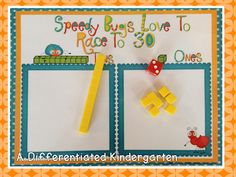 A Differentiated Kindergarten: Fun Buggy Base Ten Freebie