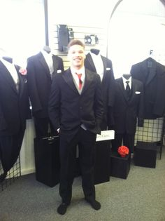Evan from Puyallup looking amazing in his Tux for PROM. The Tux Shop, Suit Jacket, Prom, Suits, Formal, Amazing, Jackets, Fashion, Senior Prom
