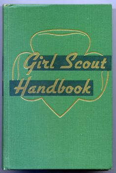 Vintage Girl Scout Handbook Hardcover from 1947 Daisy Girl Scouts, Boy Scouts, Vintage Girls, Vintage Books, Girl Scout Songs, Girl Scouts Of America, Childhood Images, American Heritage Girls, Brownie Girl Scouts