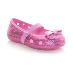In these pink glittery mary janes, she'll leave a little sparkle wherever she goes. #kids #style #cute #shoes #glitter #girls #style #fashion