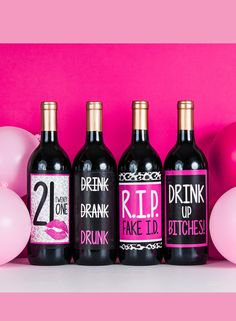 Fun Gift Idea for your friend who finally turned 21!!!! Drink Up Bitches this is going to be a night to remember - or forget hopefully ;)