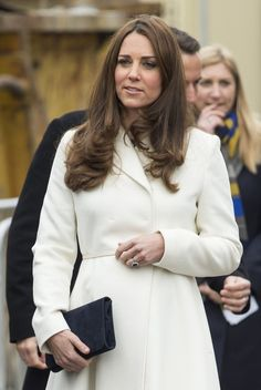 Kate Middleton Photos: Duchess Kate visits Portsmouth on February 12, 2015.