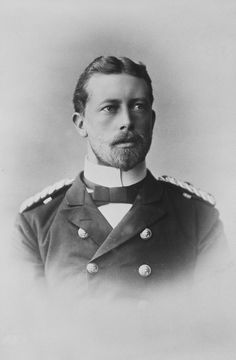 "Prince Heinrich ""Henry"" (Albert Wilhelm Heinrich) (14 Aug 1862-20 Apr 1929) Prussia-Germany by unknown artist in 1891. Henry was 3rd child of Emperor-King Frederick III ""Fritz"" (1831-1888) Germany-Prussia & Princess Victoria-Vicky (1840-1901) UK. Prince Henry, Friedrich, German Royal Family, Henri, Princess Alice, Royal Collection Trust, Queen Victoria Prince Albert, Conde, Grand Duke"