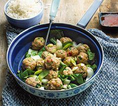 Curry-kipgehaktballen met kokos en koriander - Recept - Jumbo Supermarkten