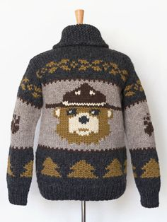 Campfire Bear sweater