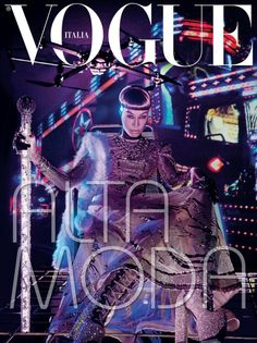 Joan Smalls by Steven Klein for VOGUE Italia March 2015