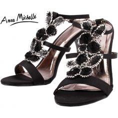 L3338 černé plesové boty společenské boty na podpatku páskové 299 KČ  77c4bd76ab