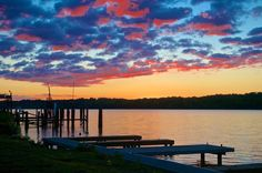 1. Ohio River, Louisville via  Mark Sims.
