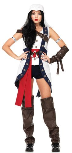 Assassin's Creed - Ladies Connor Costume from Buycostumes.com