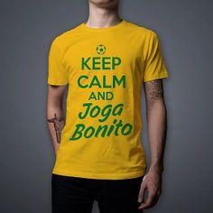 World Cup Brazil 2014 Keep Calm and Joga Bonito